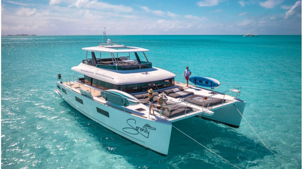Serenity - 63' Lagoon Power Catamaran
